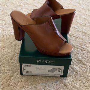 Paul Green Presley Saddle Lea shoes. NIB. Size 10.